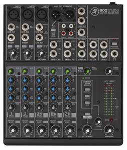 Bilde av Mackie 802VLZ4 8-ch mixer w/3 onyx Preamps