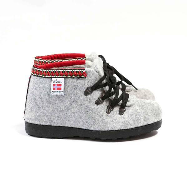 Nesnalobben Afterski sko grå