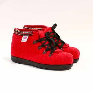 Bilde av Nesnalobben Afterski sko rød