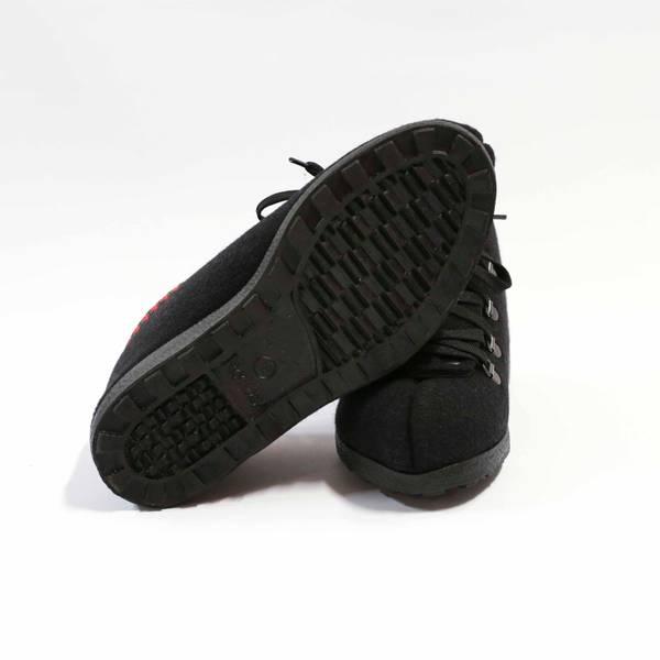 Nesnalobben Afterski sko svart