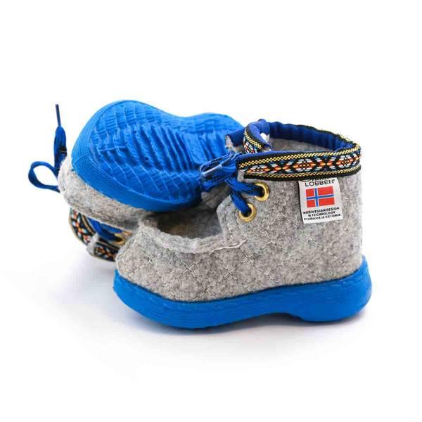 Nesnalobben sko original grå barn