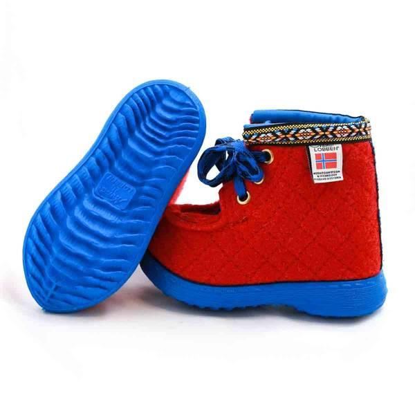 Nesnalobben sko original rød barn