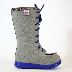 Bilde av Nesnalobben sko høy grå