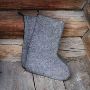 Image of Wool felted boots