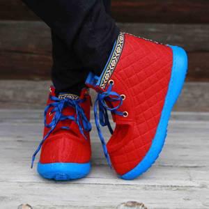 Bilde av Nesnalobben sko original rød voksen