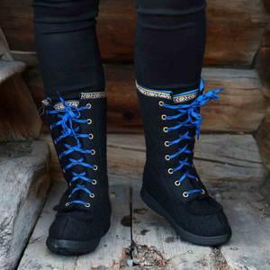 Bilde av Nesnalobben sko høy svart