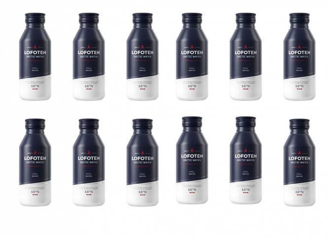 Bilde av STILL WATER 12 pack Aluminiumsflaske