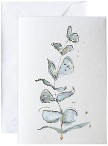 Bilde av Elise Stalder, kort Blå flora