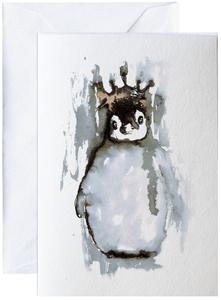 Bilde av Elise Stalder, kort Pingvin
