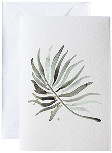 Bilde av Elise Stalder, kort Palm leaf