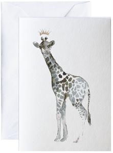 Bilde av Elise Stalder, kort Giraff