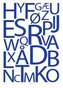 Bilde av Designbyodd, Alfabet blå