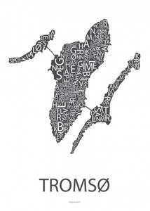 Bilde av Designbyodd, Plakat Tromsø