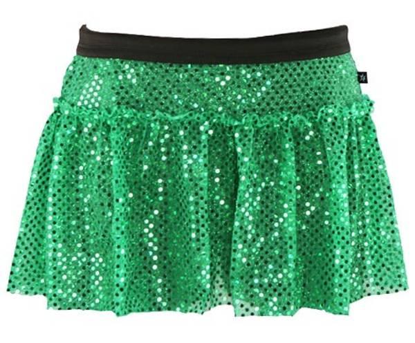 Bilde av Green Sparkle glitterskjørt