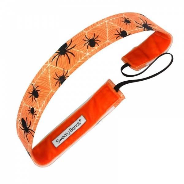 Sweaty Bands Spiderella hårbånd oransje