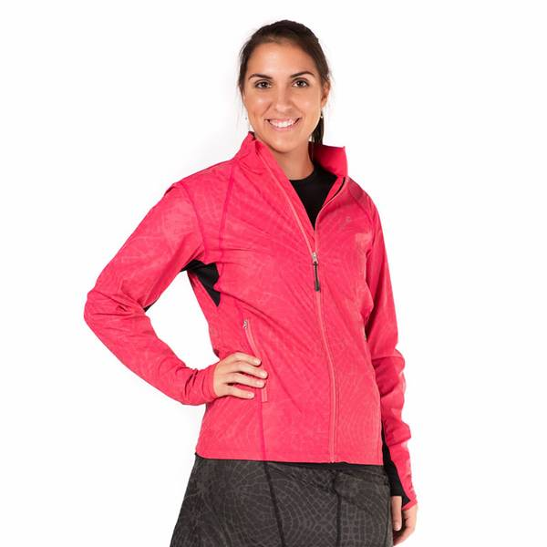 Bilde av Reflective Safety Jacket Cosmo Pink/Flyaway Print - SISTE SJANSE