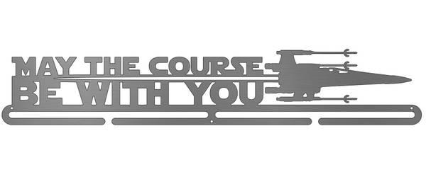 Bilde av May The Course Be With You medaljehenger