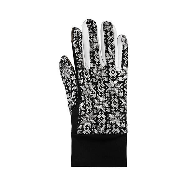 Bilde av Morild Glitre hansker med refleks hvit