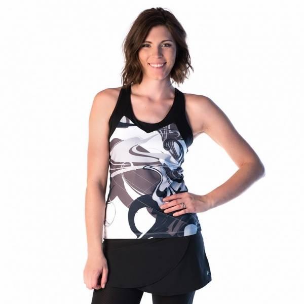 Bilde av Super Girl Tank Persevere Print/Black