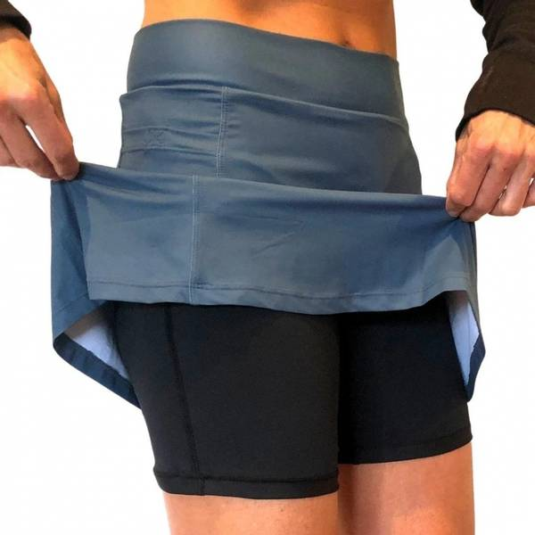 Athletic Skirt Pacific Blue