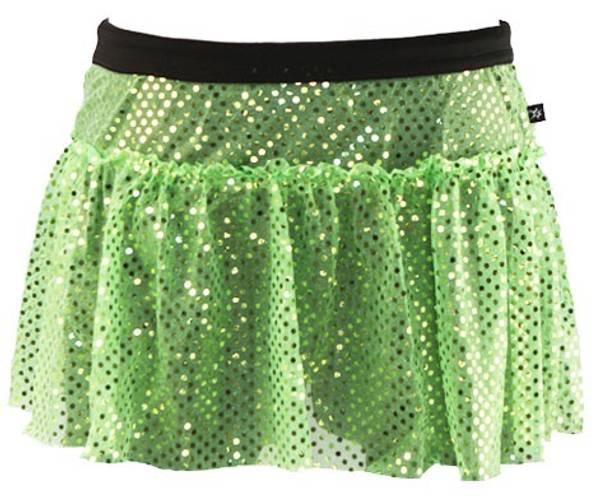 Bilde av Lime Green Sparkle glitterskjørt