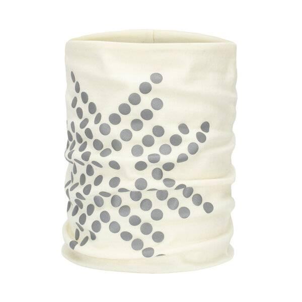 Bilde av Morild Sølvfaks hals i ull med refleks hvit