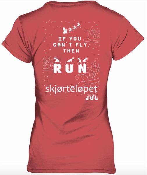 Bilde av Skjørteløpet Jul t-skjorte