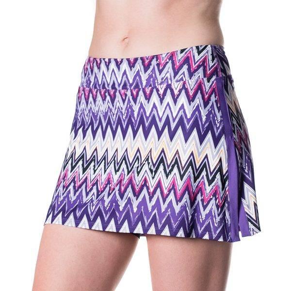 Bilde av Gym Girl Ultra Skirt Sidewinder Print