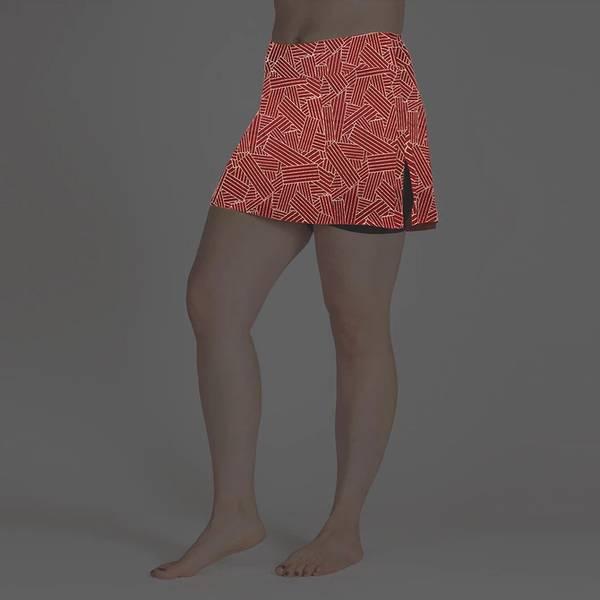 Gym Girl Ultra Skirt Reflective Moonshine
