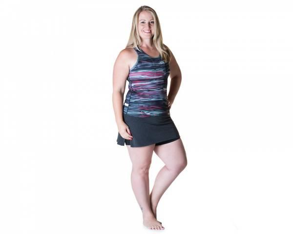 Bilde av Gym Girl Ultra Skirt Black Wool