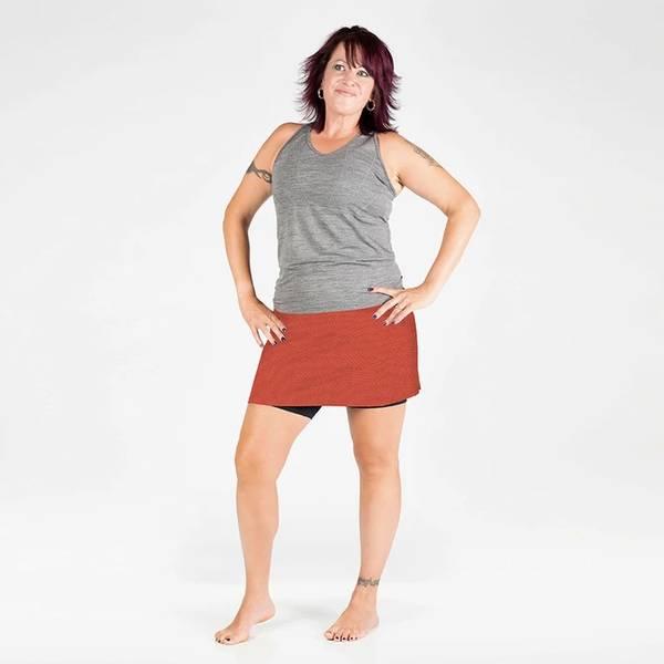 Happy Girl Skirt Reflective Moonshine