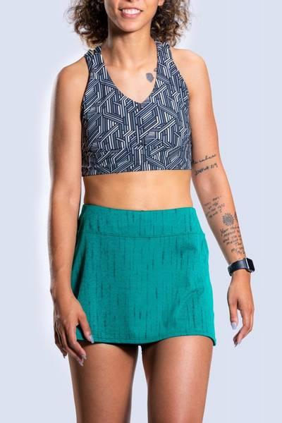 Bilde av Gym Girl Ultra Skirt Green Solace