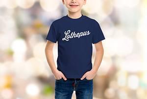 Bilde av barne t-shirt marine