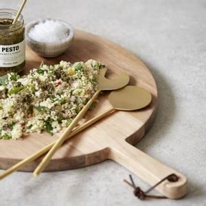 Bilde av Salatbestikk, messing