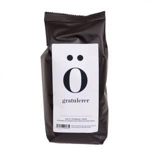 """Bilde av Kaffe """"gratulerer"""""""