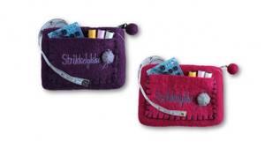 Bilde av Liten pung med strikkelykke