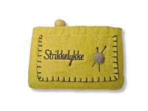 Bilde av Stor pung med strikkelykke