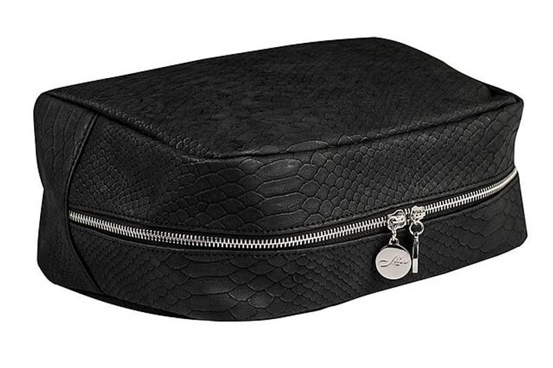 TOILETRY BAG BRUSHED BLACK