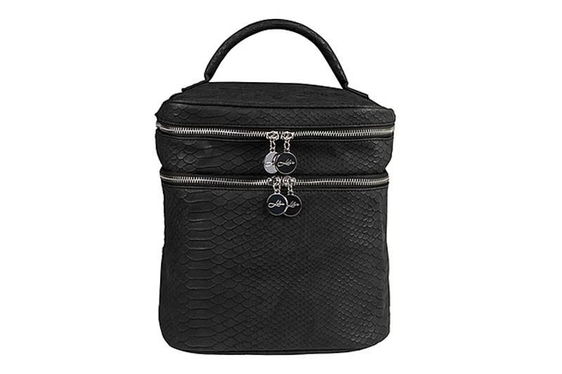 BEAUTY BAG BRUSHED BLACK