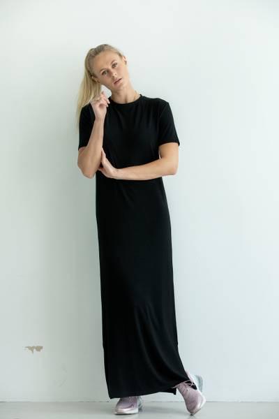 BRANDY DRESS BLACK