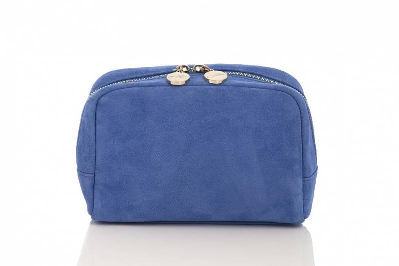 COSMETIC BAG BLUE SEMSKET