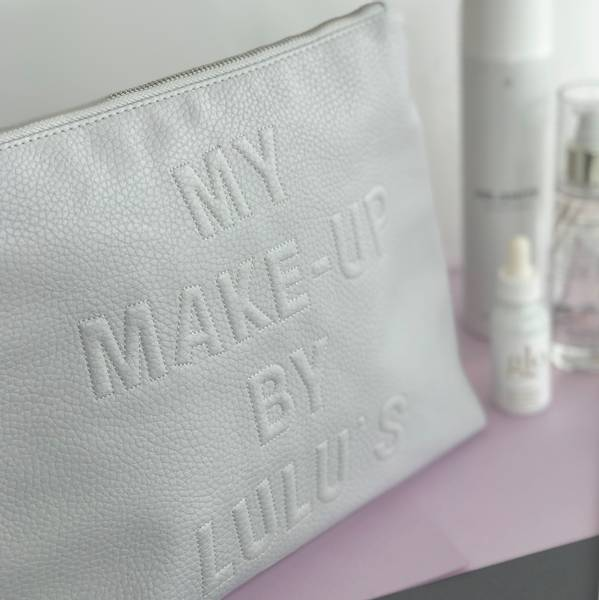 MY MAKE UP TOILETRY BAG ICE BLUE