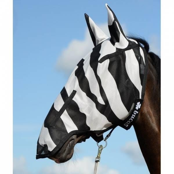 Bilde av Bucas Zebra Buzz-Off Full Face Fly Mask