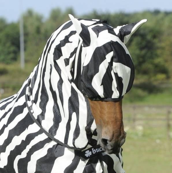 Bilde av Bucas Zebra Buzz-Off Fly Mask