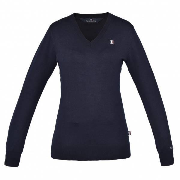 Bilde av Kingsland Classic Ladies Knitted Pullover V-Neck