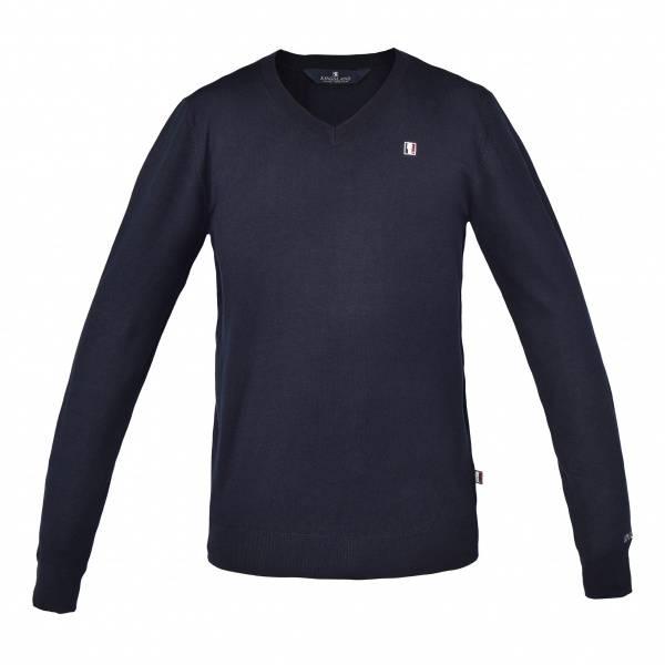 Bilde av Kingsland Classic Mens Knitted Pullover V-Neck