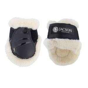 Bilde av Jacson Tendon Fetlock Boots Fur Svart
