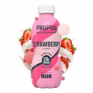 Bilde av Propud Milkshake Strawberry 330ml