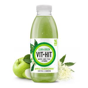 Bilde av VitHit Lean Green Apple & Elderflower 500ml