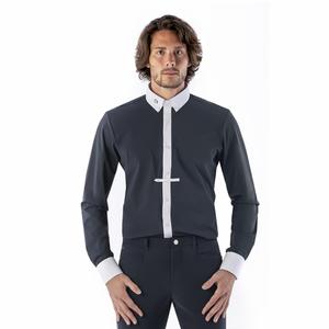 Bilde av EGO7 Polo Shirt Long Sleeve Navy Herre
